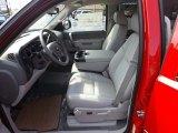 2013 Chevrolet Silverado 1500 LT Crew Cab Light Titanium/Dark Titanium Interior