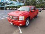 2013 Victory Red Chevrolet Silverado 1500 LT Crew Cab 4x4 #69523962