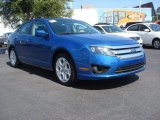 2011 Blue Flame Metallic Ford Fusion SE V6 #69592632
