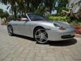 1999 Arctic Silver Metallic Porsche 911 Carrera Cabriolet #69592524