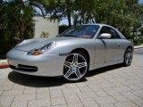 1999 Porsche 911 Carrera Cabriolet Front 3/4 View