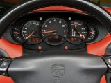 1999 Porsche 911 Carrera Cabriolet Gauges