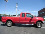 1999 Ford F350 Super Duty Vermillion Red