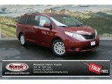 2012 Salsa Red Pearl Toyota Sienna LE AWD #69592249