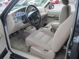 2003 Ford Explorer Sport XLS Medium Parchment Beige Interior