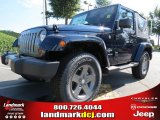 2012 True Blue Pearl Jeep Wrangler Oscar Mike Freedom Edition 4x4 #69622249