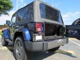 2012 Jeep Wrangler Oscar Mike Freedom Edition 4x4 Trunk