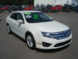 2011 White Suede Ford Fusion SEL #69622571