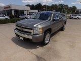 2008 Graystone Metallic Chevrolet Silverado 1500 LT Crew Cab #69622416