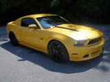 2011 Yellow Blaze Metallic Tri-coat Ford Mustang GT Premium Coupe #69622542