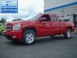 2013 Victory Red Chevrolet Silverado 1500 LTZ Extended Cab 4x4 #69622206