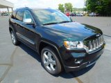 2013 Jeep Grand Cherokee Black Forest Green Pearl