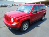 2013 Jeep Patriot Rescue Green Metallic