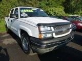 2005 Summit White Chevrolet Silverado 1500 LT Crew Cab 4x4 #69622305