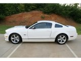 2007 Performance White Ford Mustang Shelby GT Coupe #69658475