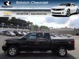 2009 Black Chevrolet Silverado 1500 LT Z71 Crew Cab 4x4 #69658444