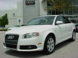 2008 Ibis White Audi A4 2.0T Special Edition Sedan #6954661