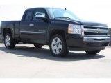 2009 Black Chevrolet Silverado 1500 LT Extended Cab #69658416