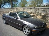 2005 Sparkling Graphite Metallic BMW 3 Series 325i Convertible #6957450