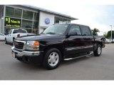 2005 Onyx Black GMC Sierra 1500 SLE Crew Cab #69658055