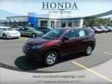 2012 Basque Red Pearl II Honda CR-V LX #69658031