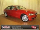 2012 Melbourne Red Metallic BMW 3 Series 328i Sedan #69658009