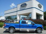 2012 Blue Flame Metallic Ford F150 XLT SuperCrew 4x4 #69657549