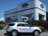2013 Ingot Silver Metallic Ford Explorer XLT 4WD #69657548