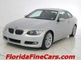 2007 Titanium Silver Metallic BMW 3 Series 328i Coupe #6957365