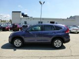2012 Twilight Blue Metallic Honda CR-V EX 4WD #69658308