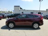 2012 Basque Red Pearl II Honda CR-V EX 4WD #69658304