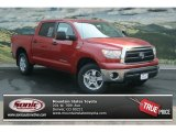 2012 Barcelona Red Metallic Toyota Tundra CrewMax 4x4 #69657436