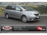 2012 Silver Sky Metallic Toyota Sienna LE AWD #69657429