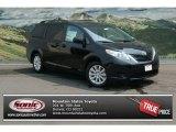 2012 Black Toyota Sienna LE AWD #69657427