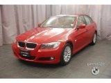 2009 Crimson Red BMW 3 Series 328xi Sedan #6954706