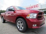 2012 Deep Cherry Red Crystal Pearl Dodge Ram 1500 Express Quad Cab #69657856