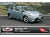 2012 Sea Glass Pearl Toyota Prius 3rd Gen Two Hybrid #69657409