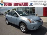 2012 Frosted Steel Nissan Rogue SV AWD #69658223