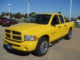 2004 Dodge Ram 1500 Solar Yellow