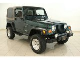 2000 Jeep Wrangler Forest Green Pearl