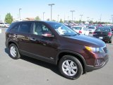 2011 Dark Cherry Kia Sorento LX AWD #69658132