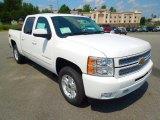 2013 Summit White Chevrolet Silverado 1500 LTZ Crew Cab 4x4 #69728074