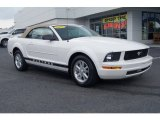 2007 Performance White Ford Mustang V6 Deluxe Convertible #69727738