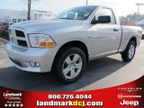 2012 Bright Silver Metallic Dodge Ram 1500 Express Regular Cab #69727728