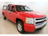 2008 Victory Red Chevrolet Silverado 1500 LT Extended Cab #69728040