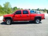 2003 Fire Red GMC Sierra 2500HD SLT Crew Cab 4x4 #69728322
