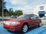 2007 Vivid Red Metallic Lincoln MKZ Sedan #69727665