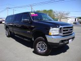 2004 Black Ford F250 Super Duty Lariat Crew Cab 4x4 #69728014