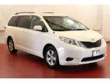 2012 Super White Toyota Sienna LE #69728284