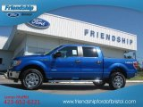 2012 Blue Flame Metallic Ford F150 XLT SuperCrew 4x4 #69727612